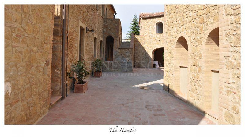 Apartments for sale near Volterra Tuscany Italy