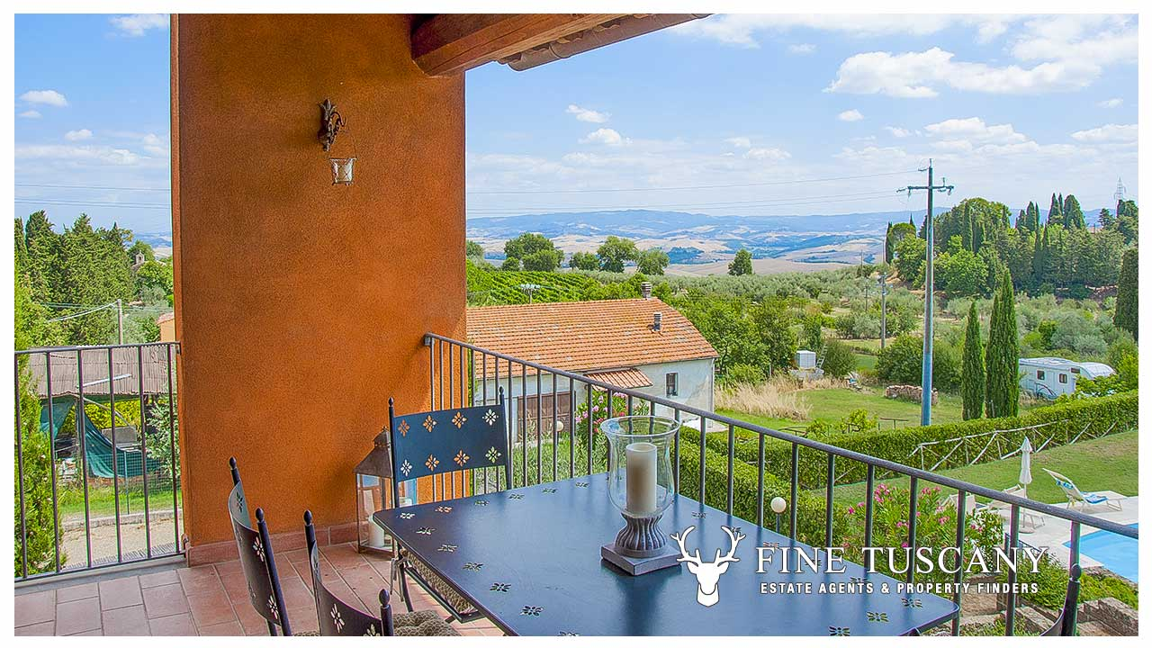 20 Bedroom Apartment for sale in Orciatico Tuscany Italy 20 ...
