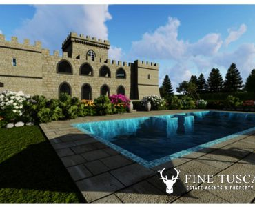 Off-plan Castle for sale in Buti Tuscany Italy