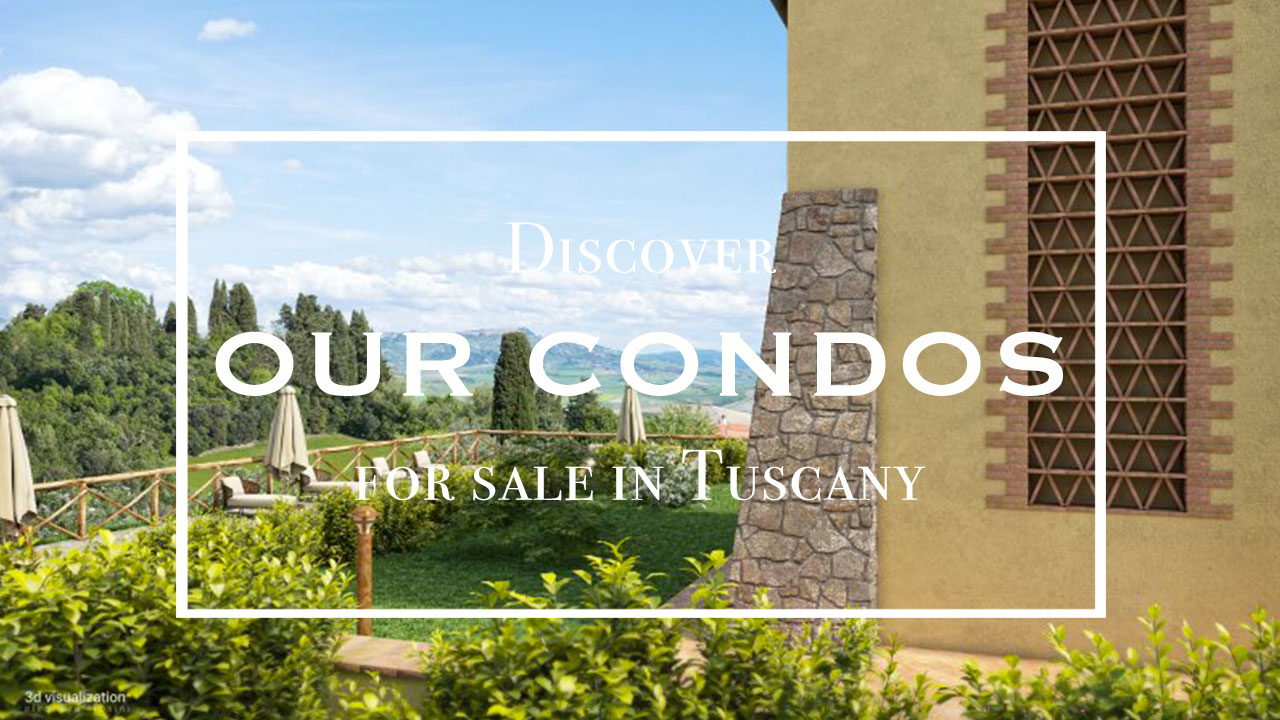 Condominium property for sale in Tuscany
