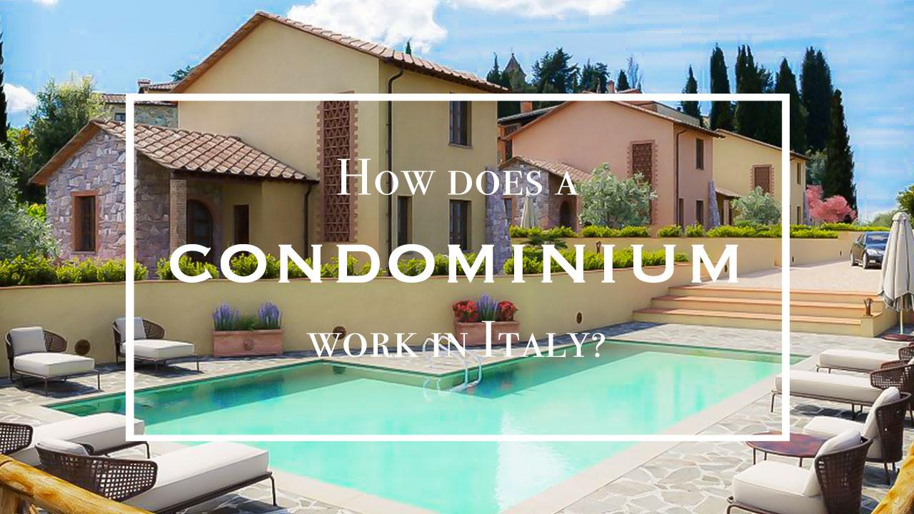 Condominium in Tuscany Italy