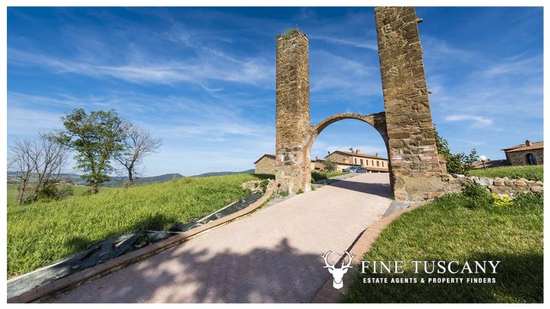 Condo Apartment for sale near Volterra Tuscany