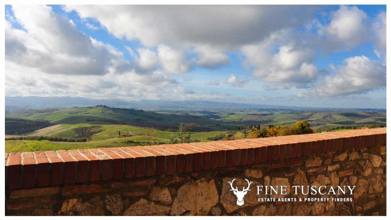 2 shell homes for sale in Palagio Montaione Tuscany