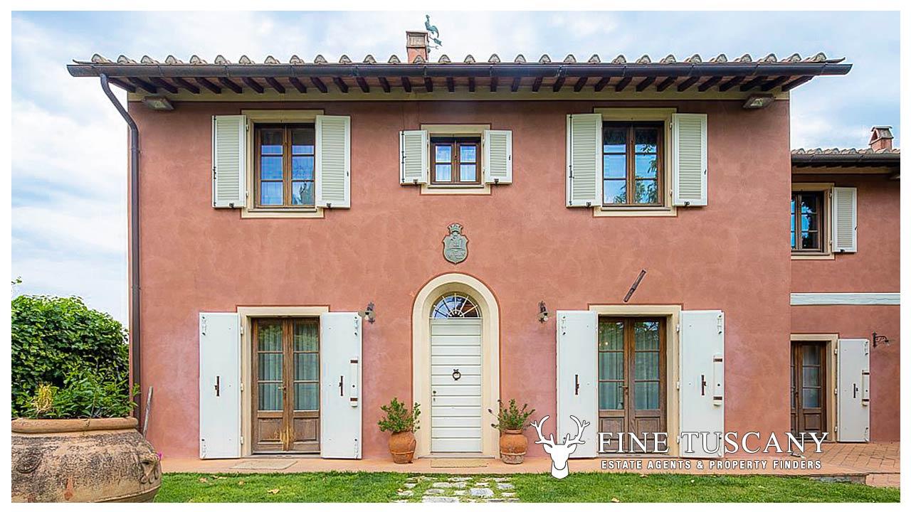 Villa for sale in Cevoli, Casciana Terme, Tuscany   FineTuscany.com