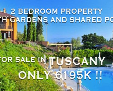 2 Bedroom Apartment for sale in Orciatico Lajatico Tuscany Italy