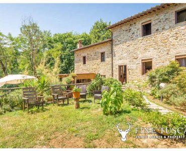 Farmhouse with land and swimming pool for sale in Buggiano Tuscany Italy