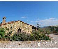 Fully detached stone house for sale in Volterra Pisa Tuscany Italy