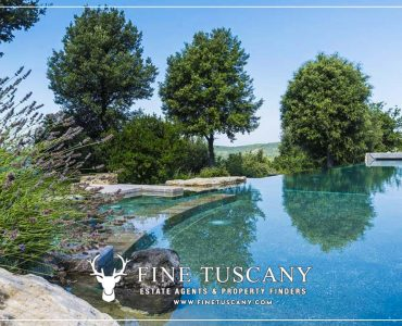 Condo apartment with pool for sale in Gambassi Terme Florence Tuscany Italy
